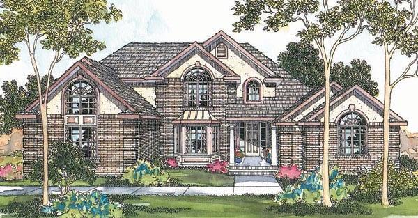 Tudor House Plan 69449 Elevation