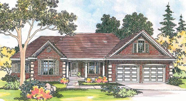 Traditional House Plan 69454 Elevation