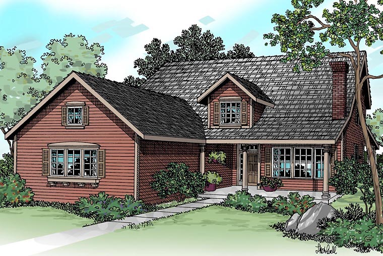 Country House Plan 69456 Elevation