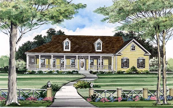 Country House Plan 69507 Elevation