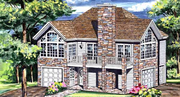 Traditional House Plan 69513 Elevation