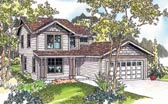 Plan Number 69616 - 1672 Square Feet