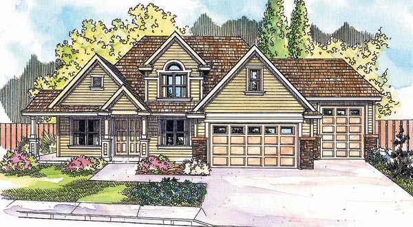 Country House Plan 69621 Elevation