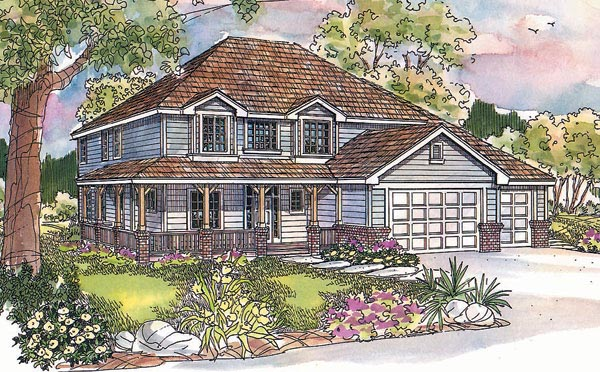 Country House Plan 69654 Elevation