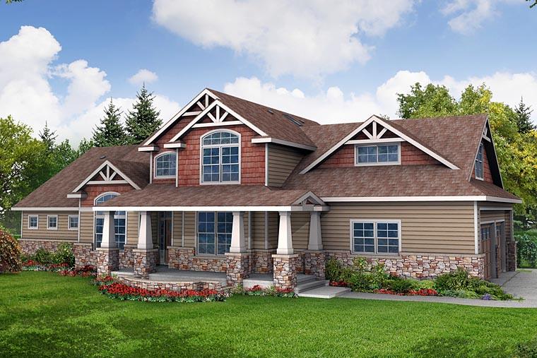 Craftsman House Plan 69689
