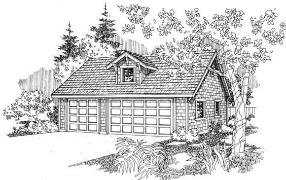 Garage Plan 69760