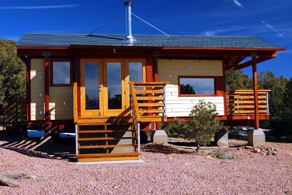Cabin House Plan 69801 Elevation