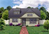 Plan Number 69907 - 1192 Square Feet