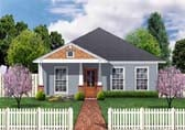 Plan Number 69908 - 1198 Square Feet