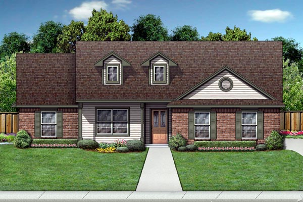 Colonial Cottage Country Traditional House Plan 69918 Elevation