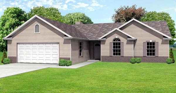 Traditional House Plan 70100 Elevation