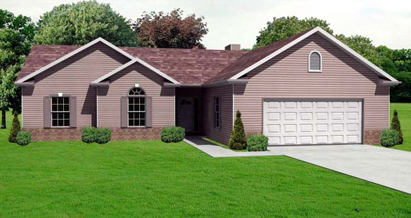 Traditional House Plan 70111 Elevation