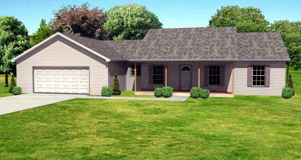 Traditional House Plan 70116