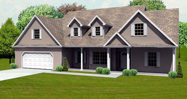 CapeCod House Plan 70132