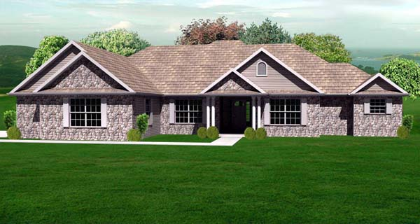 House Plan 70134 At Familyhomeplans Com