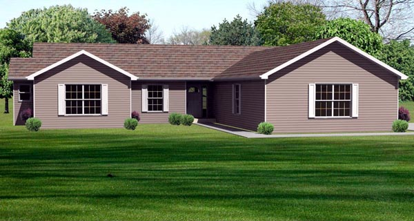 Traditional House Plan 70145 Elevation