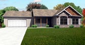 Plan Number 70151 - 1532 Square Feet