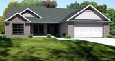 Plan Number 70158 - 1508 Square Feet