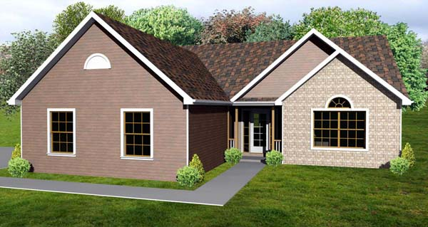 Traditional House Plan 70199 Elevation
