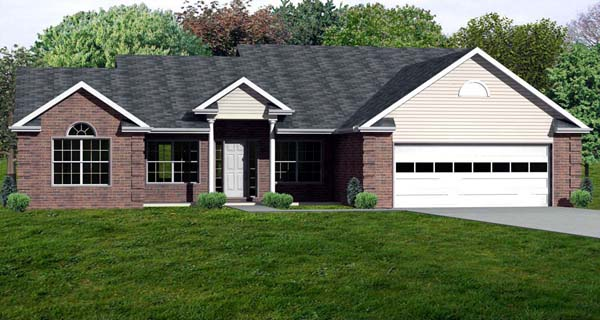 Traditional House Plan 70300 Elevation