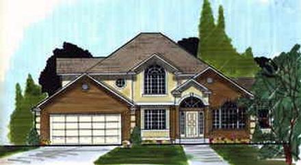 House Plan 70402