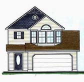 Plan Number 70411 - 1380 Square Feet