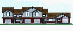 Plan Number 70454 - 4903 Square Feet