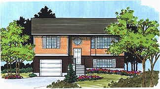 Retro Traditional House Plan 70465 Elevation
