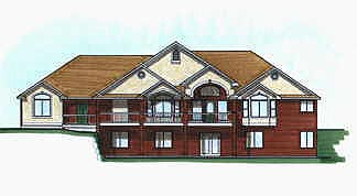 Traditional House Plan 70485 with 3 Beds, 3 Baths, 3 Car Garage Elevation
