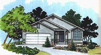 Traditional House Plan 70528 Elevation