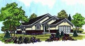 Plan Number 70532 - 1257 Square Feet