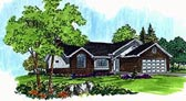 Plan Number 70534 - 1357 Square Feet