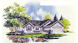 Traditional House Plan 70538