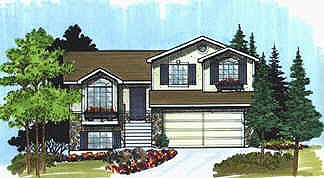 Traditional House Plan 70573 Elevation