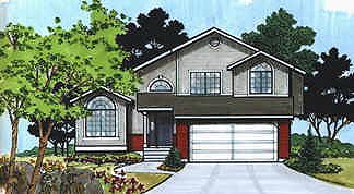 Traditional House Plan 70577 Elevation