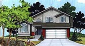 Plan Number 70577 - 1469 Square Feet