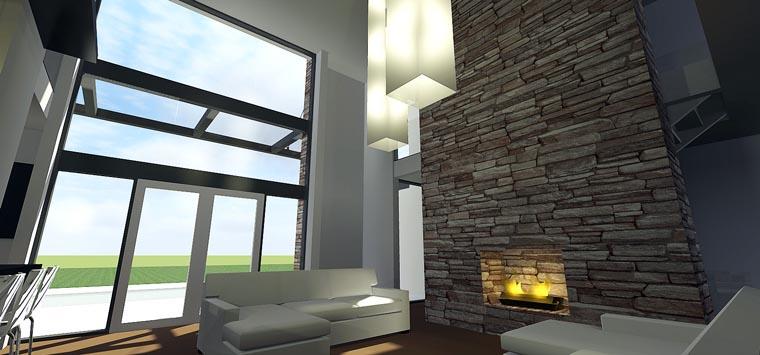 Modern House Plan 70807