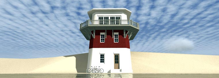 Coastal House Plan 70814 Elevation