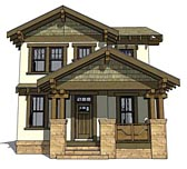 Plan Number 70815 - 2080 Square Feet