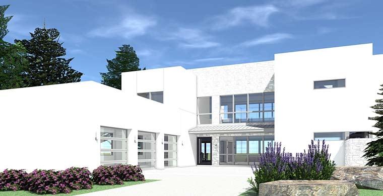 Modern House Plan 70823 Elevation