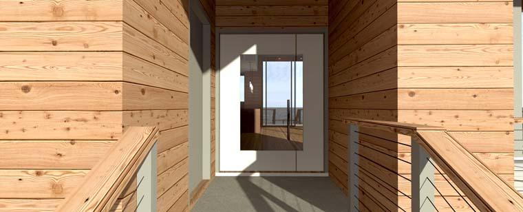 Coastal Modern House Plan 70835