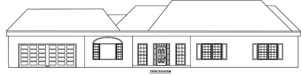 Country House Plan 70938 with 3 Beds, 3 Baths, 2 Car Garage Picture 3