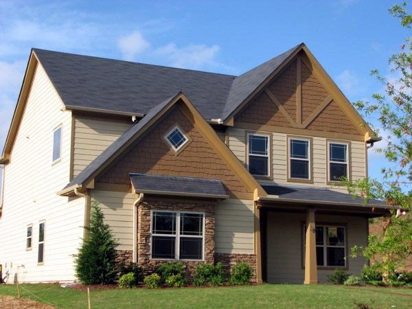 Traditional House Plan 71301 with 4 Beds, 3 Baths, 2 Car Garage Elevation