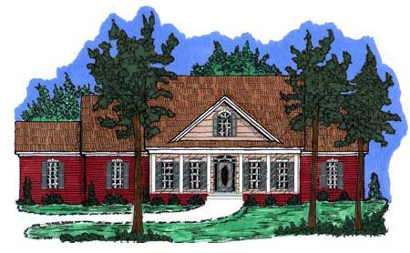 Country House Plan 71442