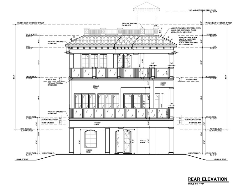 Plan Elevation Label : House plan at familyhomeplans