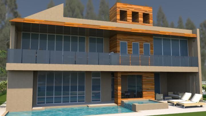 Contemporary Modern House Plan 71533 Rear Elevation