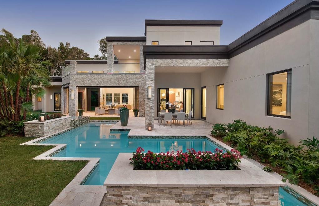 Contemporary Modern House Plan 71554