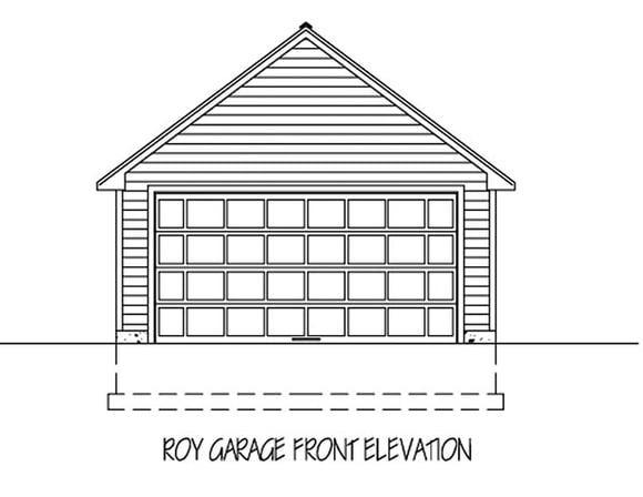 Garage Plan 71911