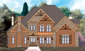 House Plan 72096