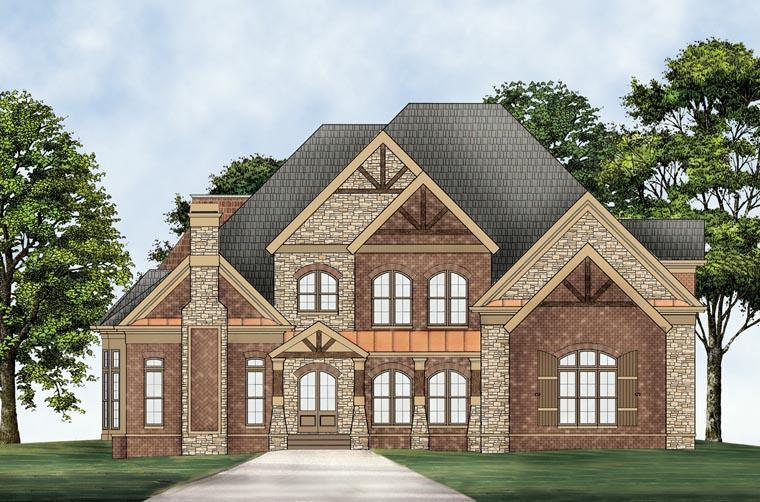 House Plan 72096 at FamilyHomePlanscom